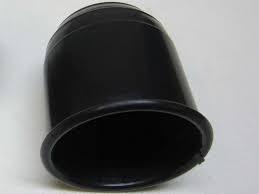 Trekhaakdop zwart