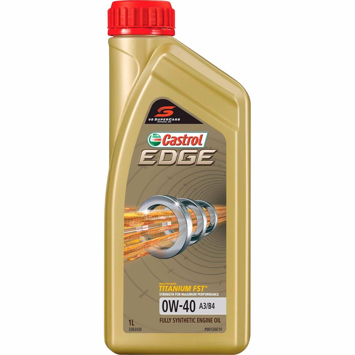 CASTROL Edge 0W40 1 liter (1845020)