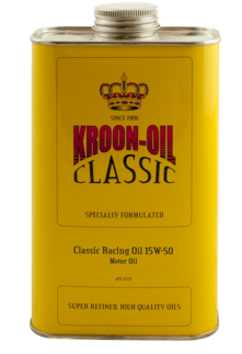 Classic racing oil 15W50 1 liter