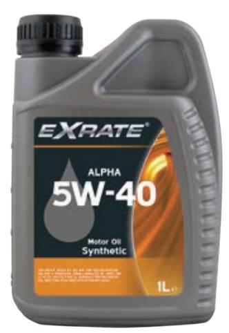 EXRATE Alpha 5W-40 1 liter (1525998520964)