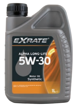EXRATE Alpha LL III 5W30 1 liter VAG 504/507 (1525998521281)