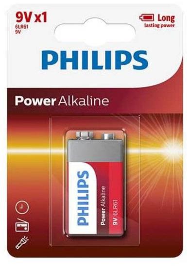 PHILIPS Powerlife Blok batterij (6LR61PWLIFE)