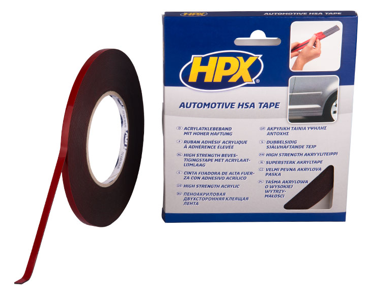 HPX Dubbelzijdige acryltape 12mm x 10 m (1302203412278)