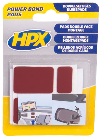 HPX Power Bonds dubbelzijdige pads (1302203412317)