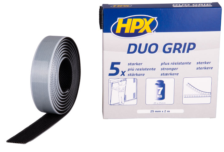 Duo grip klikbevestiging