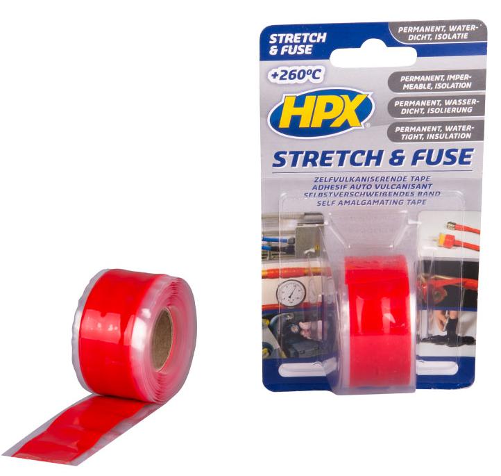 HPX Stretch & fuse zelfvulkaniserende tape rood (1376368548891)