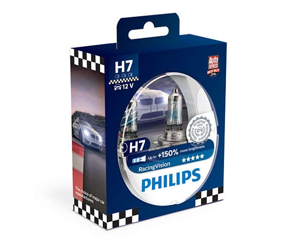 H7 koplampset RacingVision