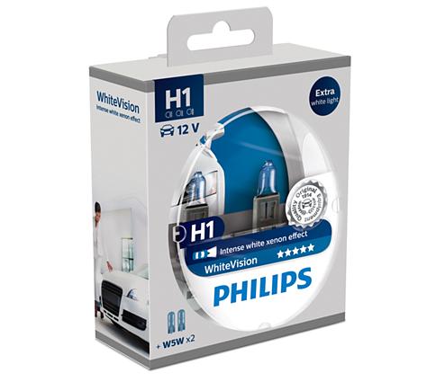 H1 koplampset WhiteVision