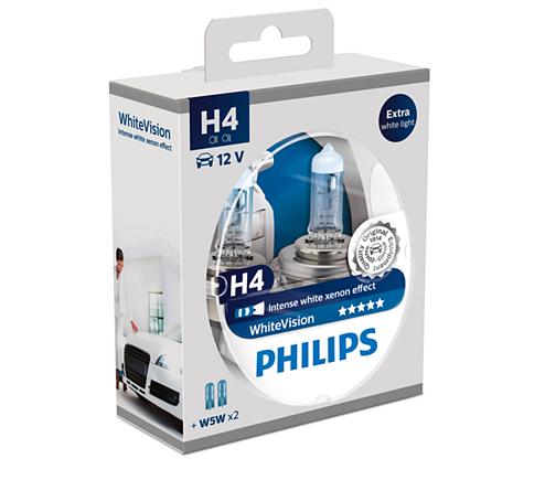H4 koplampset WhiteVision