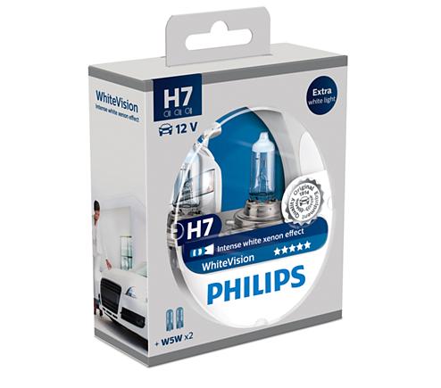 H7 koplampset WhiteVision
