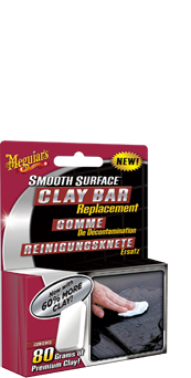 Smooth surface replacement clay | Klei